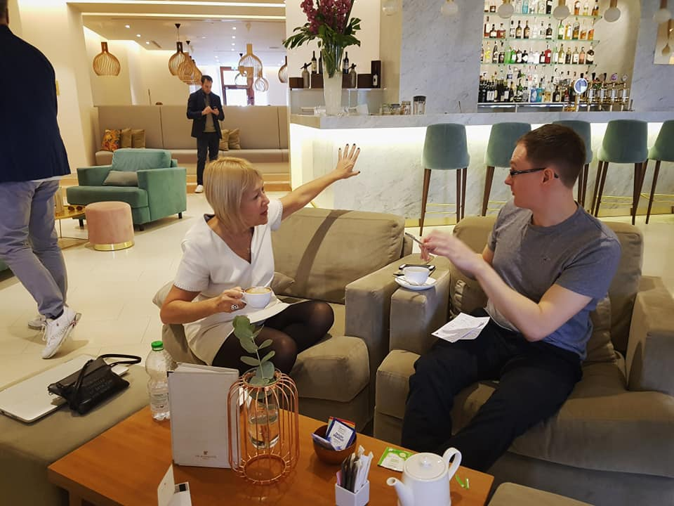 Management Today interviewing Cindy Gallop