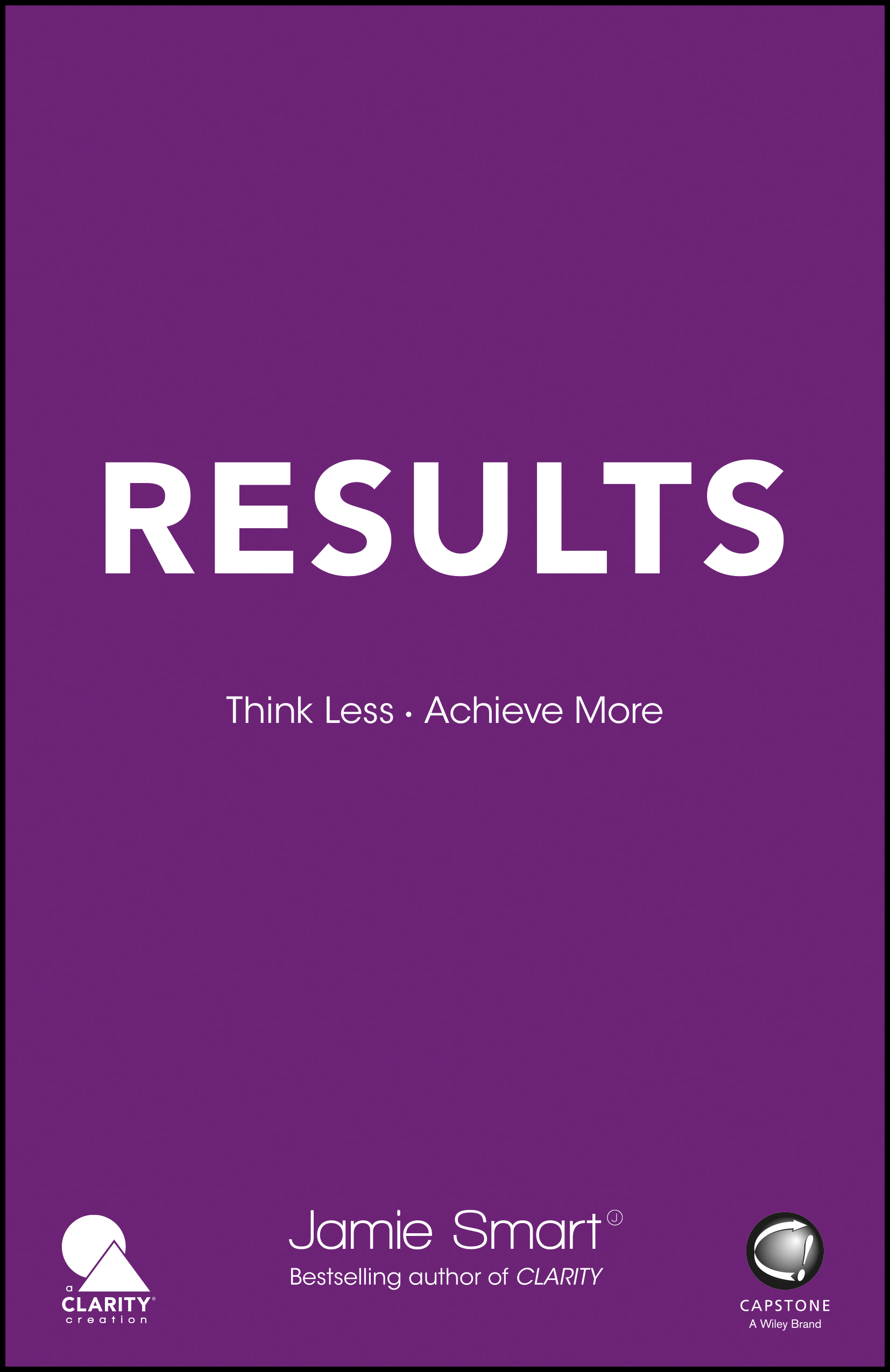 Results by Jamie Smart Book
