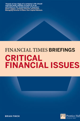 Critical Finance Issues